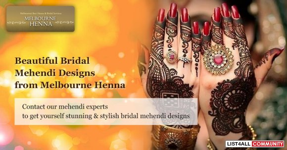 Beautiful and Latest Mehndi Designs Melbourne