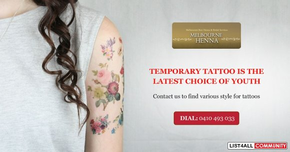 Get Trendy with Temporary Tattoos