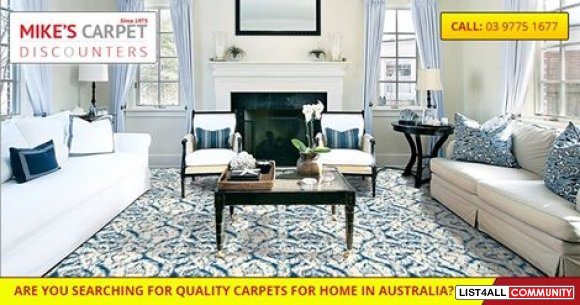 Get A Perfect Carpet To Suit Your Requirement At Mikes Carpets