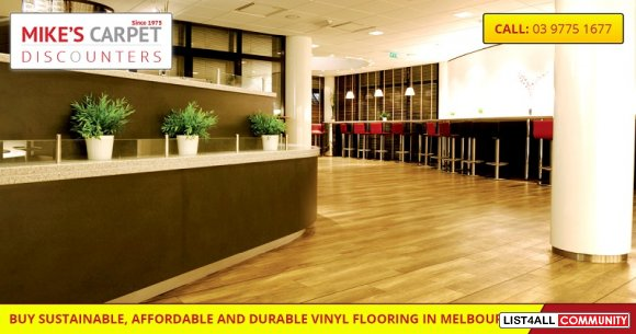 Attractive and Homogeneous Vinyl flooring: Enquire Now