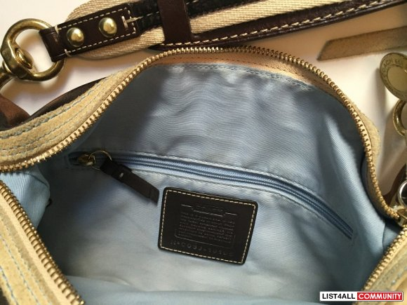 Coach Optic Shoulder Bag Purse Handbag
