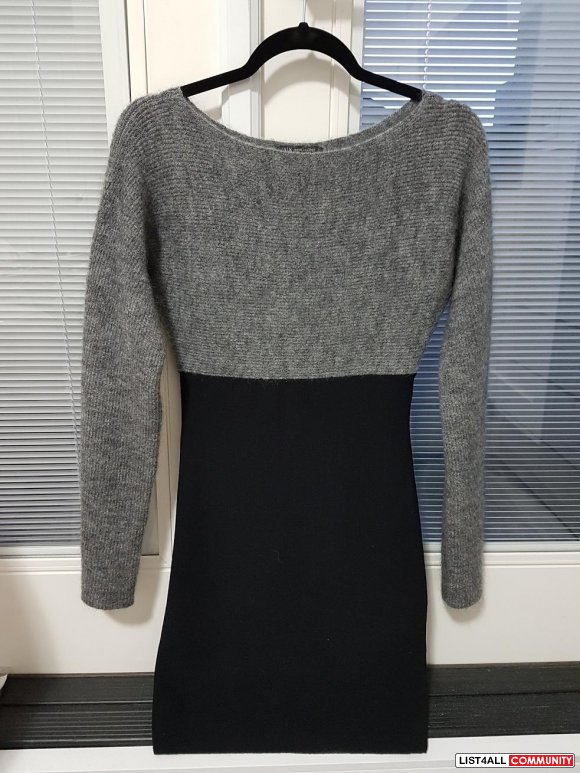 XS ARMANI XCHANGE LADIES SWEATER DRESS