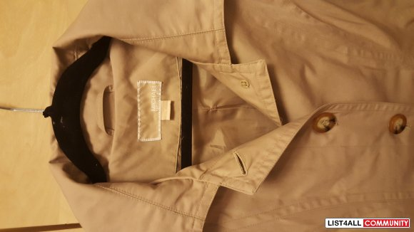 Ladies Michael Kors Trench Jacket (S)