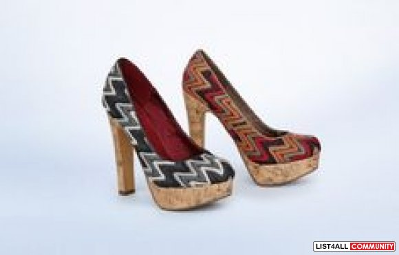 Sterling Missoni-Inspired Pumps Heels, 7