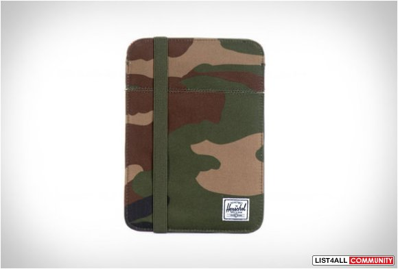 Herschel Camo iPad Mini Sleeve
