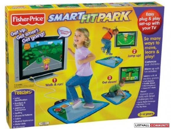 Fisher-Price Fun-2-Learn Smart Fit Park Ages 3-7, 4 AAs required, $49