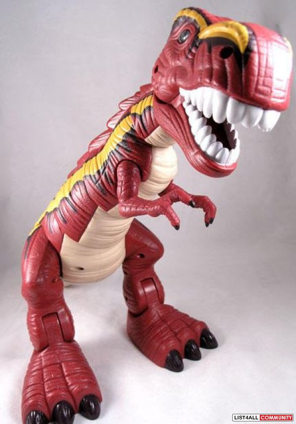 Fisher Price T-Rex Dinosaur Ages 2-5 3 AAs required, $29.99 MSRP