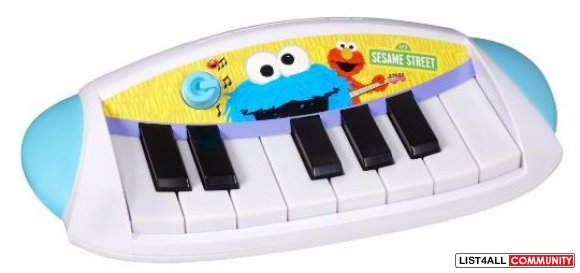 Sesame Street Piano, 3 AAs Required, $24.99 MSRP