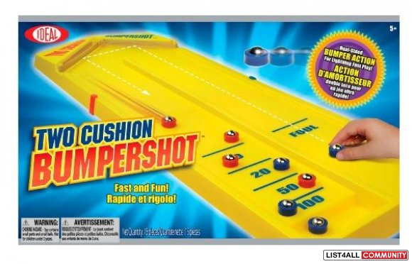2 Cushion Bumper Shot Ages 5-7, $29.99 MSRP