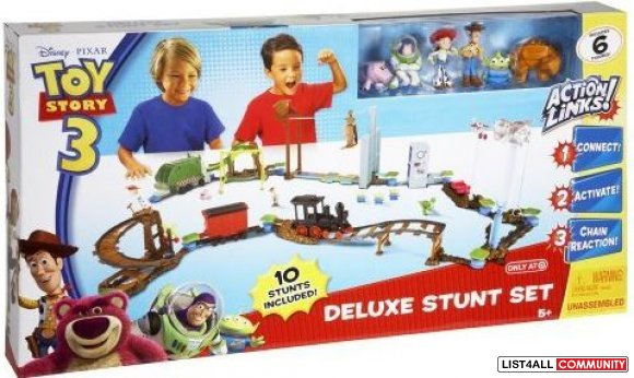 Coming Soon! Toy Story Action Links Deluxe Set $99.99 MSRP