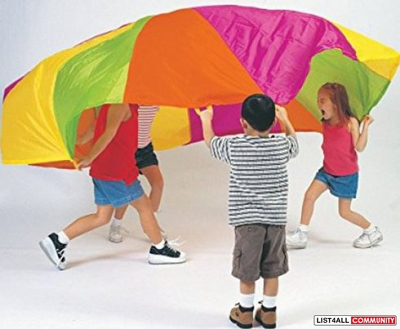 Kids Play Parachute Tent Ages 1-6, $39.99 MSRP