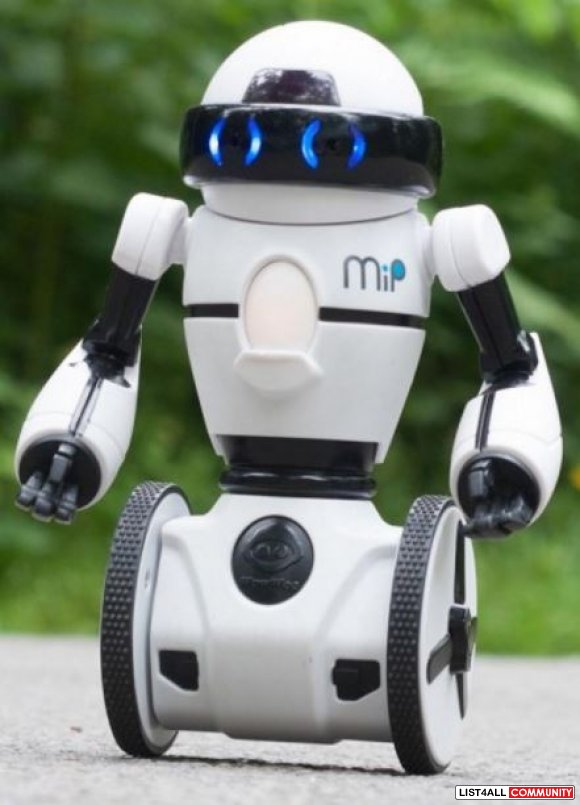 WowWee MiP Balancing Robot Ages 8+, 4 AAAs, $99 MSRP