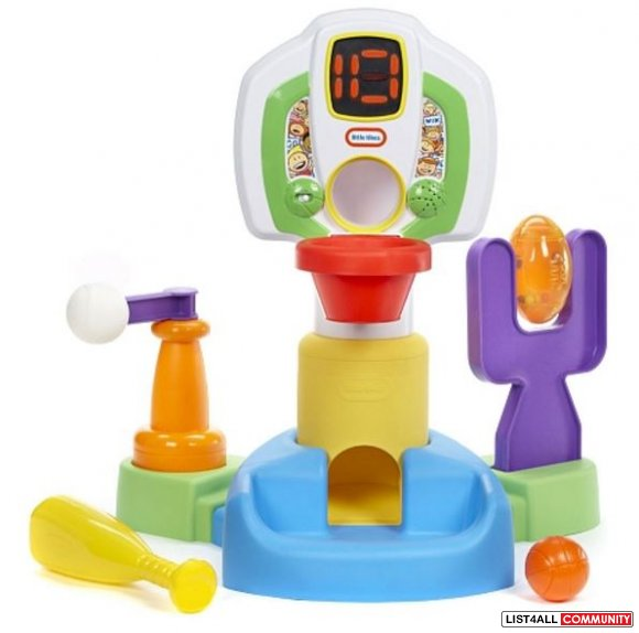 Little Tikes - DiscoverSounds Sports Center Age 9-23mo., 3 AAs require