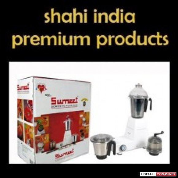 Buy the Best Mixer & Grinders at Shahi India