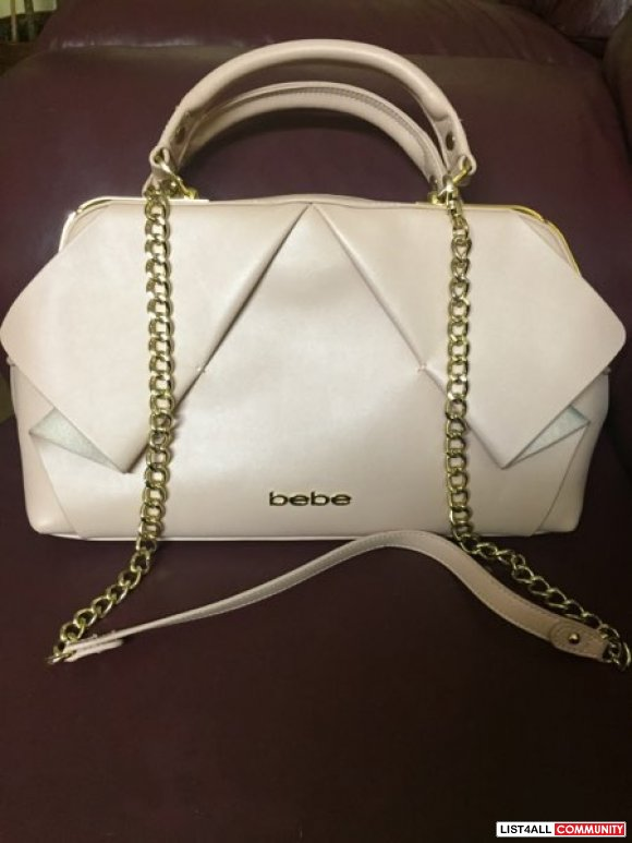 Brand new Bebe light pink purse