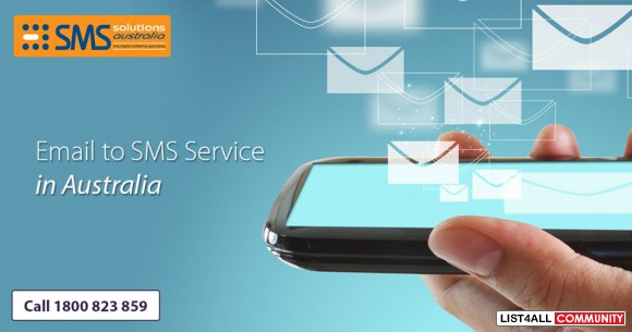 Get Easy To Use Email to SMS Service. Start Your Free Trial Today