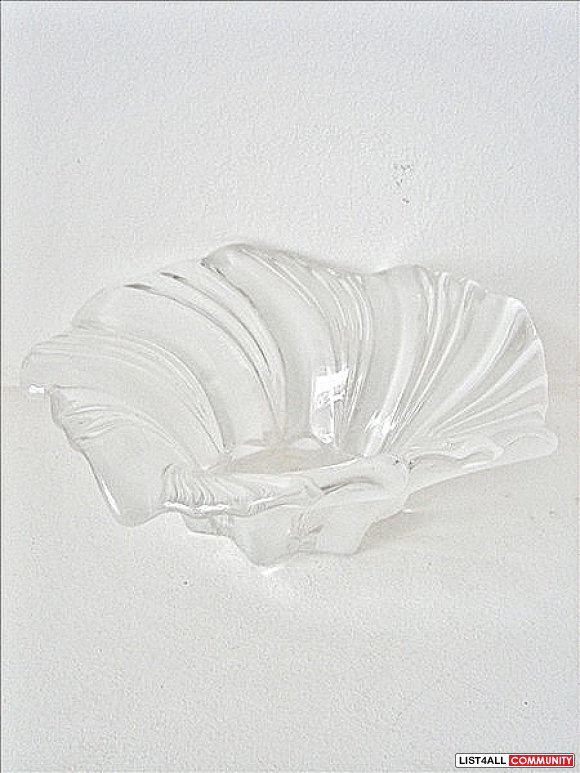 Mikasa Belle Epoque Clear Crystal Bowl
