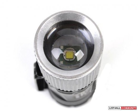 3-Mode UltraFire 600LM 7W Zoom LED Mini Flashlight