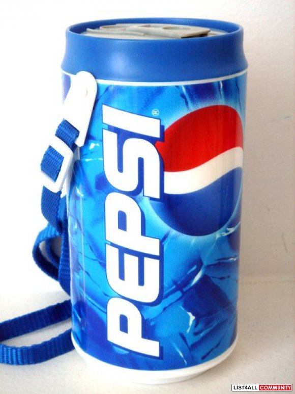 Pepsi Canteen Soda Can Shape Container