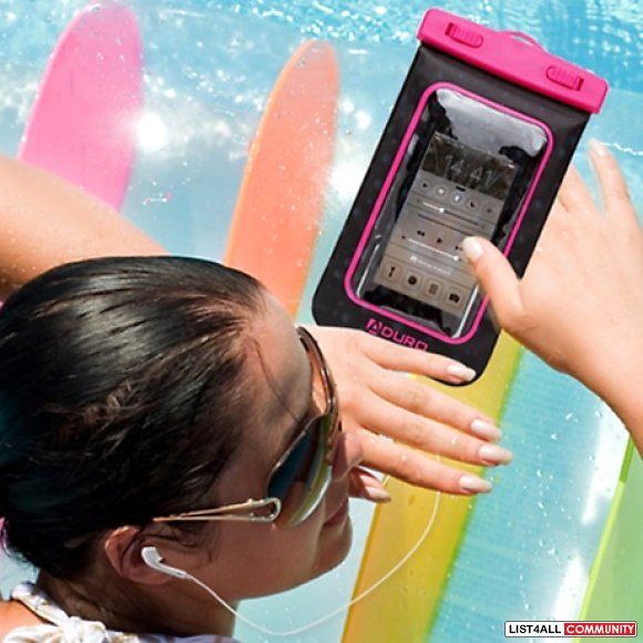Waterproof Smartphone Case Bag with Audio-Out Jack