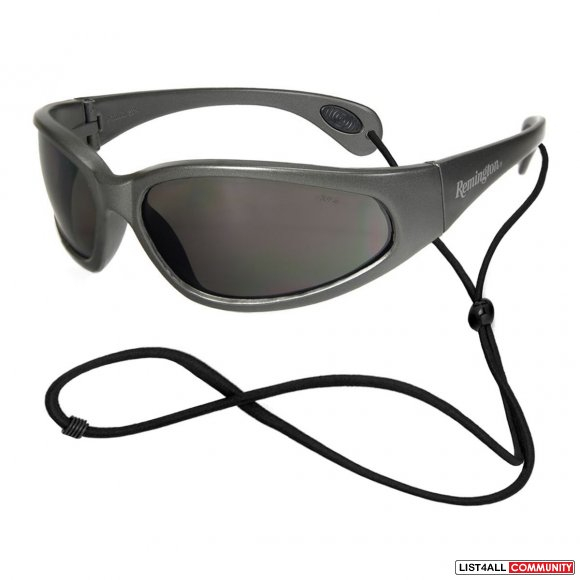 REMINGTON Safety Glasses Grey Frame Smoke Lens (T70-20 SMOKE)
