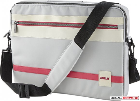 "GOLLA CIEL Laptop Sling Sleeve Bag 16"" - Light Gray"