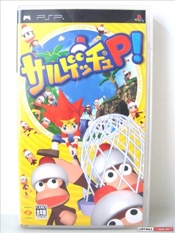 Sony PSP Game - Sarugetchu P! (Japanese)