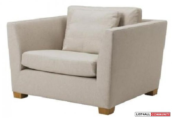 Replacement Cover for Ikea STOCKHOLM Armchair - Gammelbo Light Brown