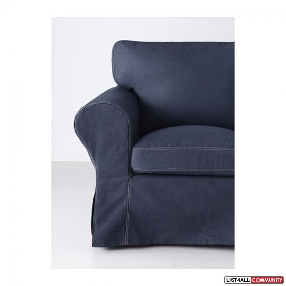 Replacement Cover for Ikea EKTORP Armchair - Jonsboda Blue
