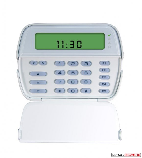 DSC PowerSeries Keypad with Built-in Wireless Receiver (RFK5501)