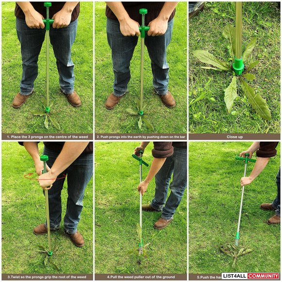 Twist Pull Weeder Weed Puller Remover