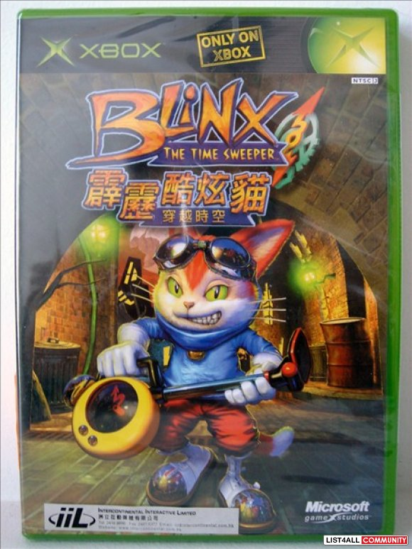 XBox Game - Blinx The Time Sweeper