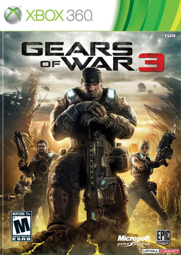 Xbox 360 Game - Gears of War 3