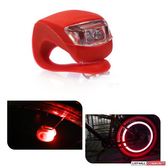 Bicycle Bike Safety LED Light - Red