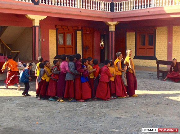 volunteer and cultural journey to Nepal | Touch of Spirit Tours