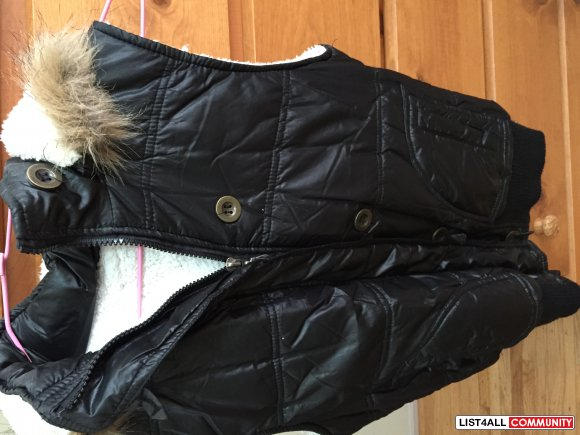 Vest with fur interior from Taiwan