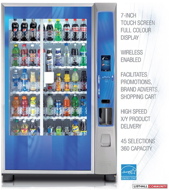Vending machines for the Healthcare Industry