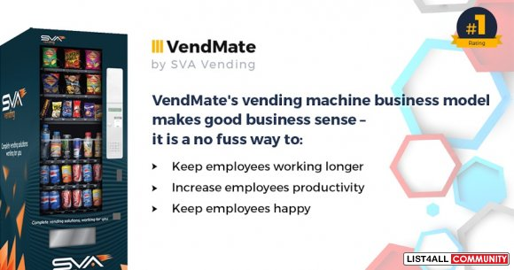 Start-Up Your Own Vending Machines Business with Less Capital