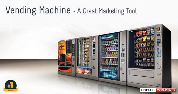 Vending Machine - An Essential Marketing Tool for Your Business