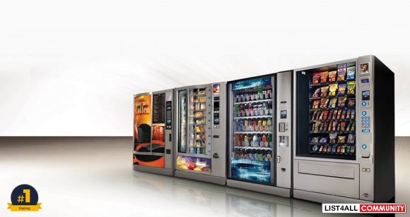Choose the Best Vending Machines from Your Favourite Brand
