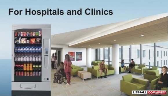 Hospital Vending Machines for Patients, Visitors and Staff