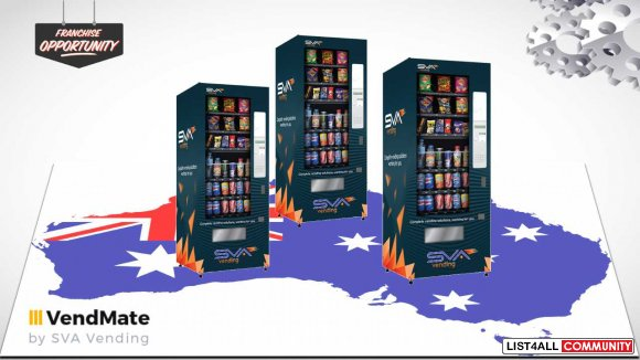 Large Varieties of Vending Machines for Franchise