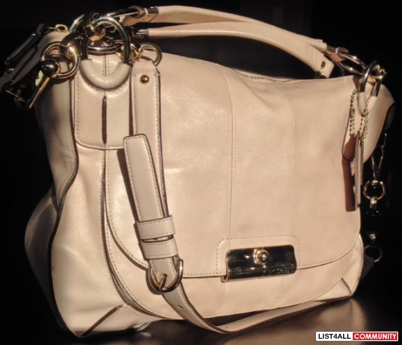 Coach Kristin Elevated Leather -Limited edition- $250.00