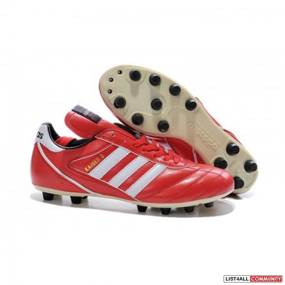 Cheap Adidas Kaiser 5 Liga FG Red White,www.cheapestsoccer.com
