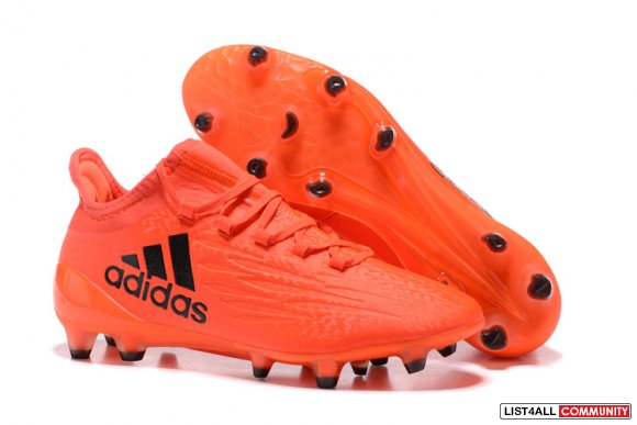 Cheap Adidas X 16.1 FG Black Orange,www.cheapforsoccer.com
