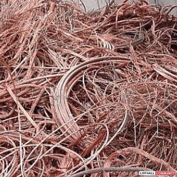 Call Us To Get The Best Scrap Copper Prices in Melbourne