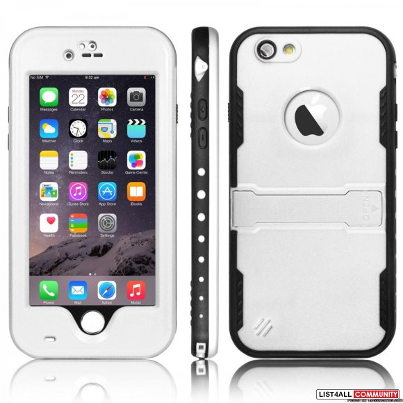 Best Waterproof Shockproof Case Cover With Kickstand For iPhone 6