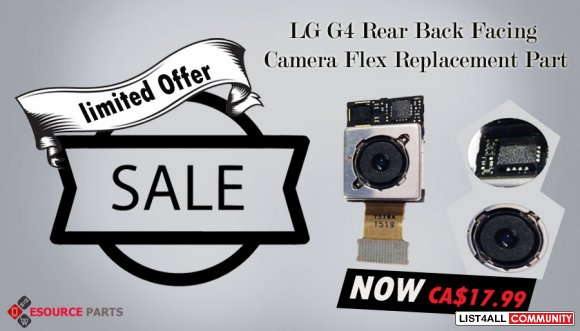 LG G4 Rear Facing Camera Replacement