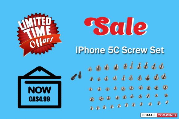 Buy iPhone 5C for Complete Screw Set
