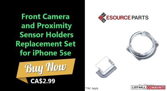 Best Front Camera and Proximity Sensor Holders Replacement Set for iPh